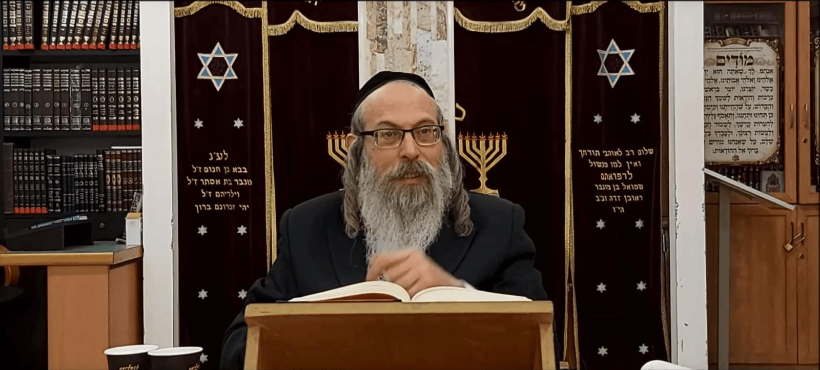הרב אליהו גודלבסקי – להתחזק באמונת חכמים