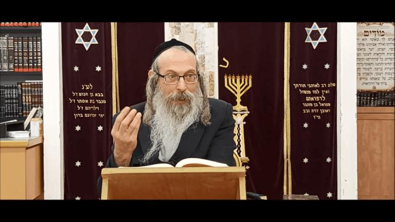 הרב אליהו גודלבסקי – כשאיש הישראלי עולה מדרגה מדרגה