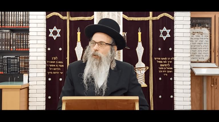 הרב אליהו גודלבסקי – עזות דקדושה