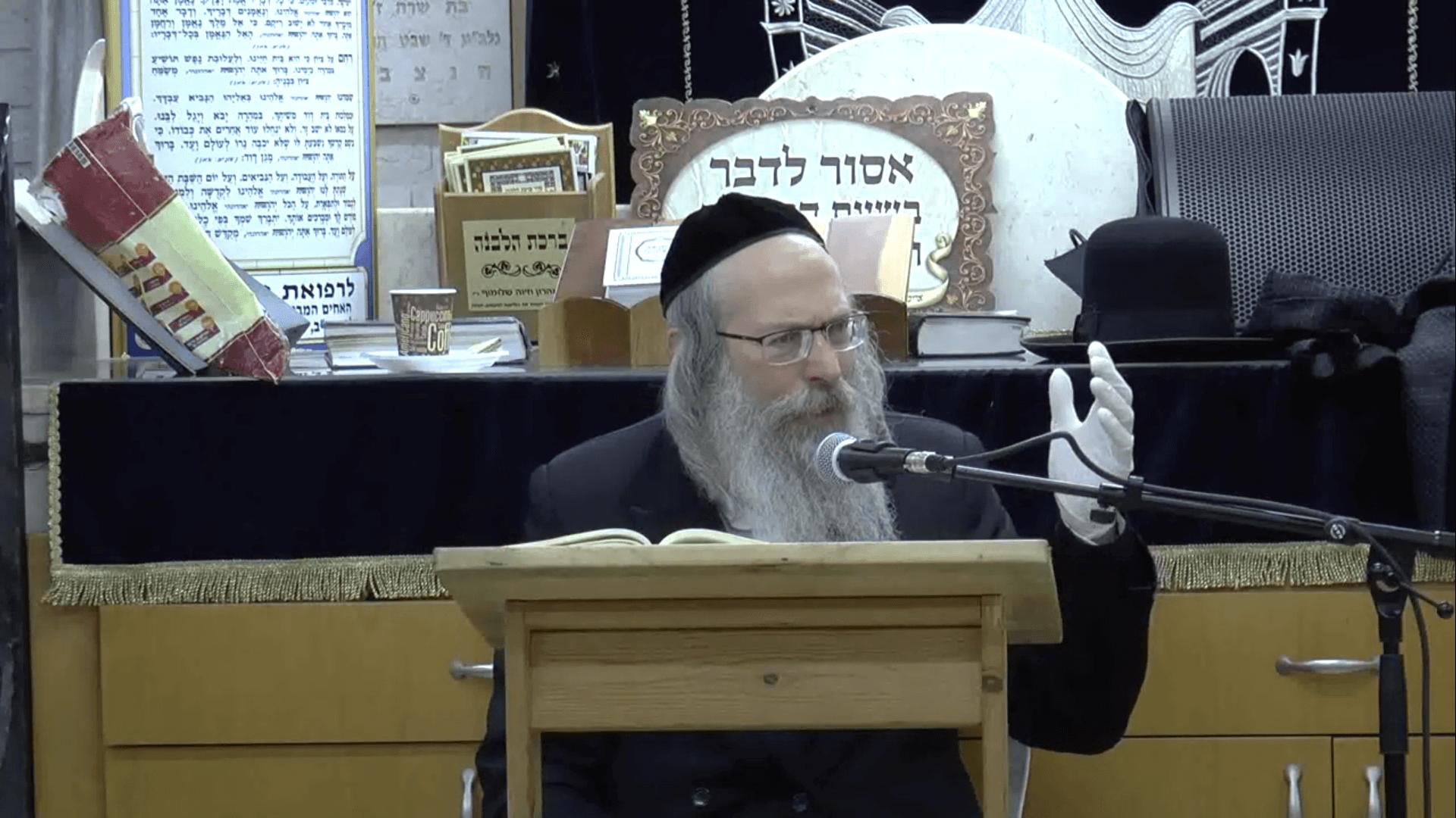 הרב אליהו גודלבסקי – בצל הקורונה
