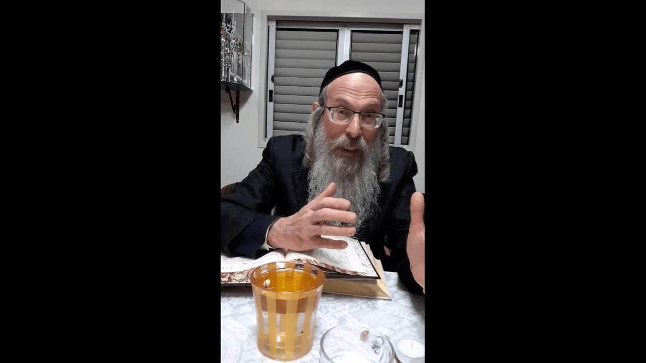 הרב אליהו גודלבסקי – התרופה לקורונה בהישג ידך –