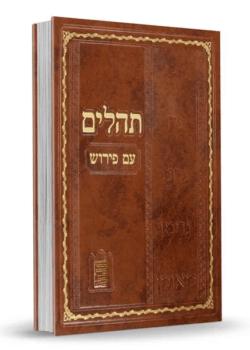 תהלים ענק – עם פירוש נצח ישראל – חום